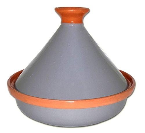 Le Souk Ceramique Cookable Tagine 12 Gray