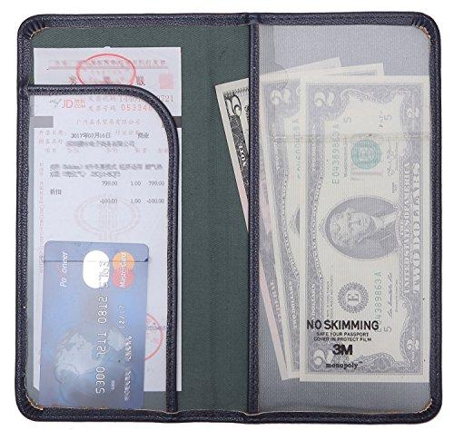 Flexible Check Presenter Server Book Waitress Book Restaurant Waitstaff Organizer Thin and Slim 43 X 85