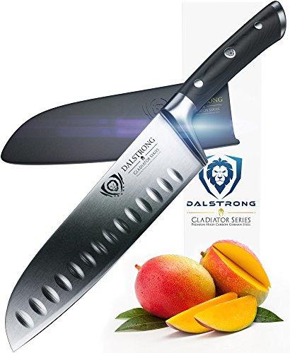 DALSTRONG Santoku Knife - Gladiator Series - German HC Steel - 7 180mm