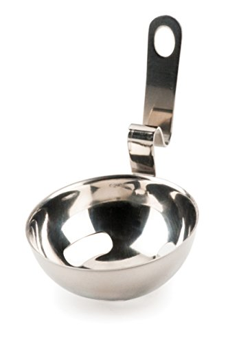 RSVP Endurance 188 Stainless Steel Egg Separator with Bowl Hook