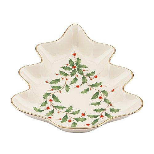 Lenox Holiday Tree Candy DishIvory