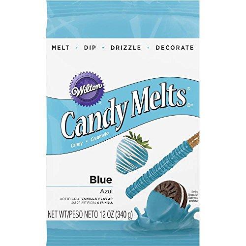 Wilton 16911-1352 Blue Candy Melts 12-Ounce