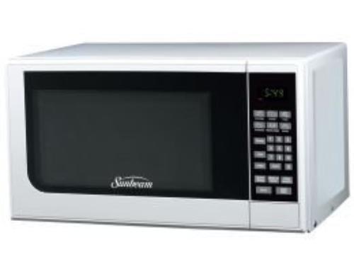 Sunbeam Sgc7701 0.7 Cu. Ft. 700 Watts Digital Microwave White