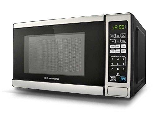 Toastmaster Tm071 Microwave, 700-watt, 0.7-cubic Feet, Silver