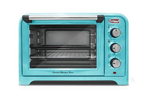 Americana  ERO-2600BL  Americana Collection Retro 6 Slice Toaster oven Blue