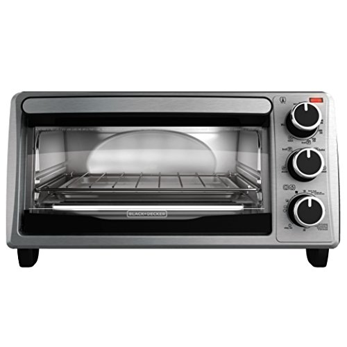 BLACKDECKER 4-Slice Toaster Oven Stainless Steel TO1303SB