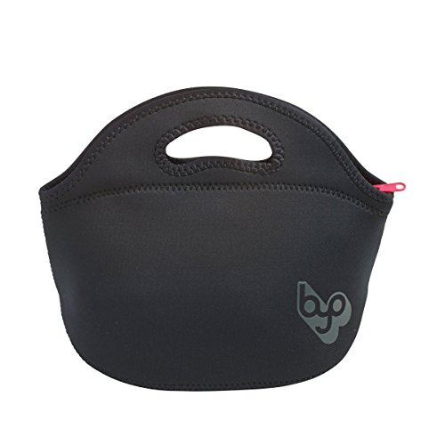 BYO by BUILT NY Rambler Neoprene Lunch Bag Black