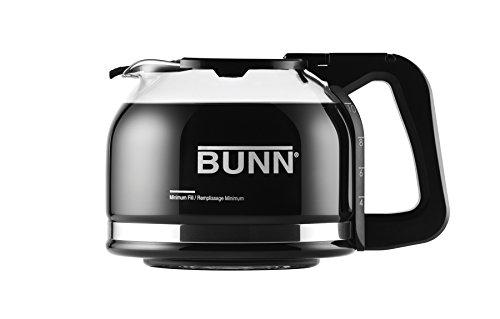 BUNN Pour-O-Matic 10-Cup Drip Free Carafe Black