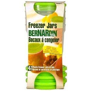 Bernardin Freezer Jars - Plastic - 16 oz