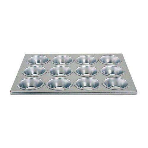 Update International MPA-12 12 Cup Aluminum Muffin Pan