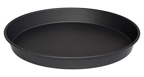 LloydPans H76R-14X2-Pstk Deep Dish Pizza Pan 14 x 2 Black