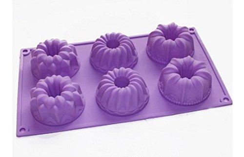 Bareware Donuts Chocolate Muffin Mini Bundt Cake Pan Jelly Mould