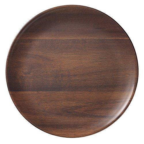 Merritt Rosewood Melamine Plates Salad Set of 6