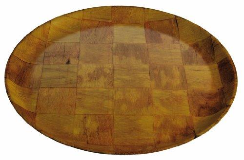 Crestware 12-Inch Crest Wood Plate