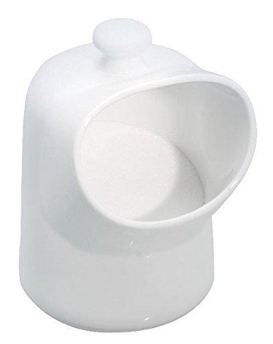 Kitchen Craft Porcelain Salt Pig White
