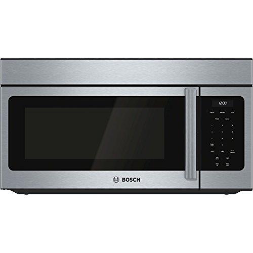 Bosch Hmv3052u300 1.6 Cu. Ft. Stainless Steel Over-the-range Microwave