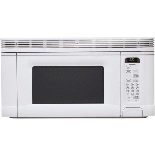 Sharp R-1406 950-watt 1-2/5-cubic-foot Over-the-range Microwave, White