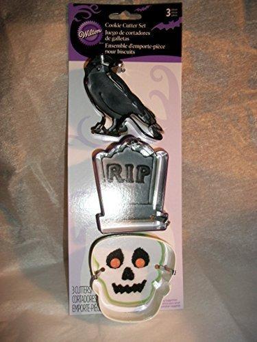 Wilton Halloween Cookie Shaper Cutters 3 Pack