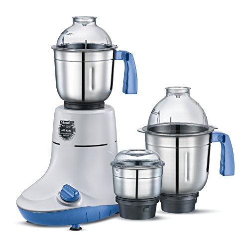 Prestige Manttra Powerful Mixer Grinder with 3 Stainless Steel Jars for Grinding and Juicing 600 Watt110 Volt for USA PMG 03
