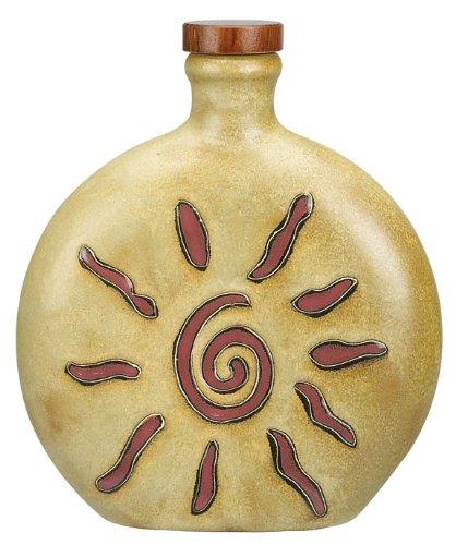 Mara Ceramic Stoneware 20 Oz Sunburst Decanter