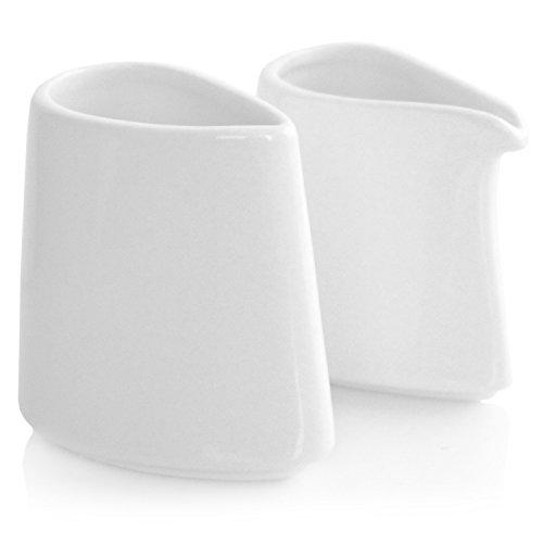 Tea Forte Porcelain SUGAR AND CREAMER Set