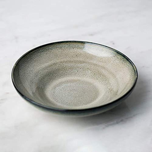 SED Cutlery Set Creative Bowl Restaurant Dish Western PlateCeramic Pasta Bowl Large Cereal Mixing Bowl Food Cooking Dining Dishware Fruit Salad Snack Bowl