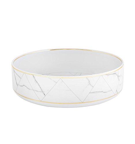 VISTA ALEGRE - CARRARA Ref  21124427 Porcelain Salad Bowl by Coline Le Corre
