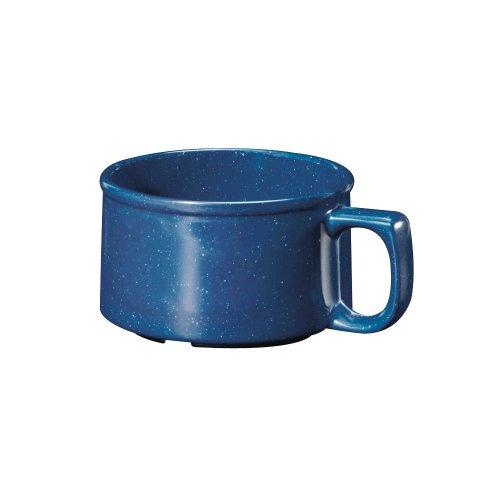 GET BF-080-TB Texas Blue 11 Oz Melamine Soup Bowl - 24  CS
