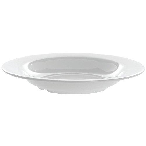 GET Diamond White 13 oz Wide-Rim Bright White Melamine Soup Bowl