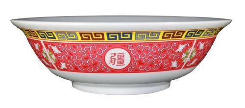 Oriental Pho Noodle Melamine Soup Bowl 57 Ounce Longevity Design