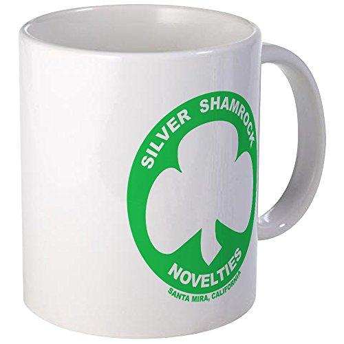 CafePress Silver Shamrock Novelties Mug Unique Coffee Mug Coffee Cup