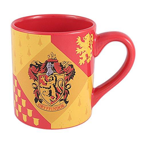 Silver Buffalo HP7332 Harry Potter Gryffindor House Crest Ceramic Mug 14-Ounces