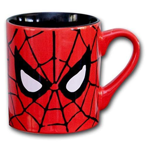 Silver Buffalo MC7032 Marvel Comics Spider-Man Eyes Ceramic Mug 14-Ounces