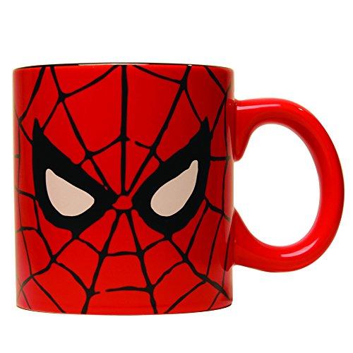 Silver Buffalo MC7034 Marvel Comics Spider-Man Eyes Jumbo Coffee Mug 20-Ounces