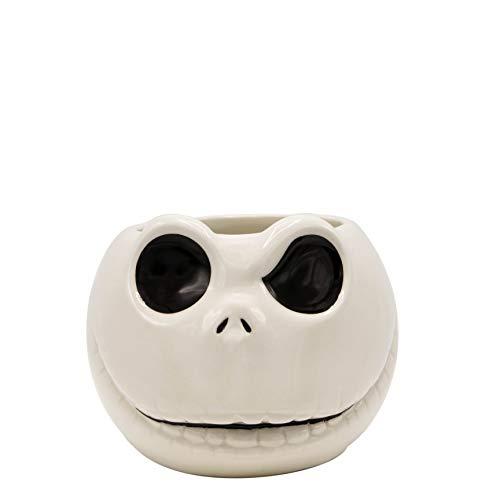 Silver Buffalo NB12193D Disney Nightmare Before Christmas Jack 3D Sculpted Ceramic Mug 20-ounces White