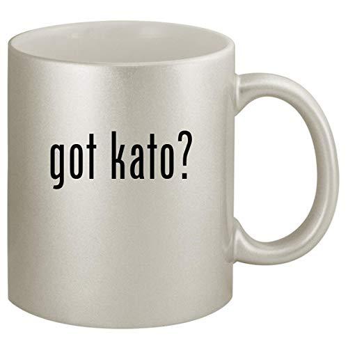 got kato - Ceramic 11oz Silver Coffee Mug Silver