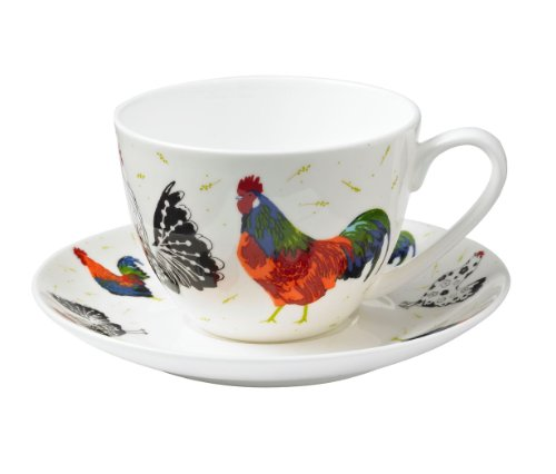 Ulster Weavers Rooster Bone China Cup and Saucer