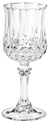 Luminarc Arc International Longchamp Diamax Cordial Glasses Set of 4 2 oz Clear