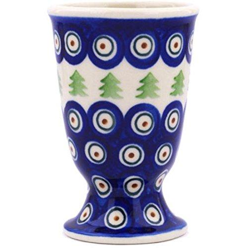 Ceramika Bona H7781G Polish Pottery Ceramic Goblet Hand Painted 7-Ounce