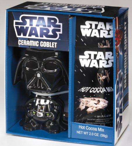 Darth Vader Ceramic Goblet with Hot Coca Mix