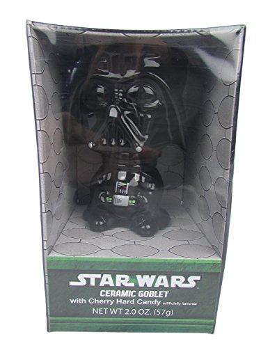 Star Wars Darth Vader Ceramic Goblet with Cherry Hard Candy