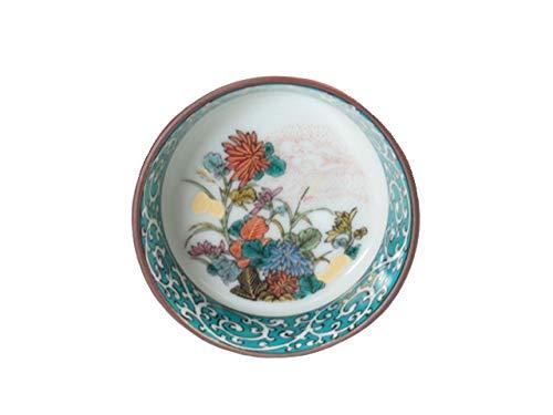 Kutani-Yaki Japanese Porcelain Sake Cup Set