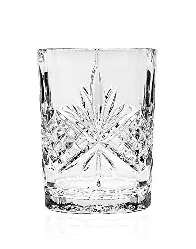 Godinger Bathroom Tumbler Cup Glass - Dublin Crystal Collection