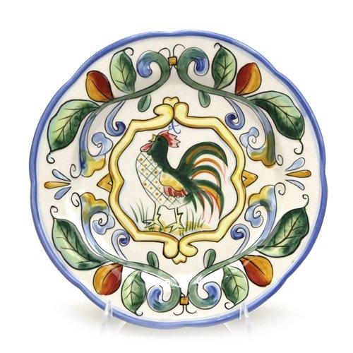 Ricamo by Fitz Floyd Ceramic Salad Plate
