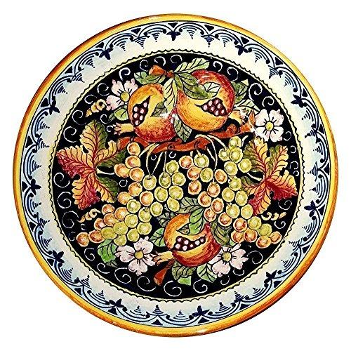 CERAMICHE DARTE PARRINI - Italian Ceramic Serving Bowl Centerpieces Art Pottery Dishware Made in ITALY Tuscan