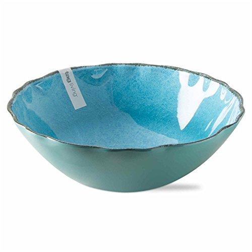 Veranda Melamine Serving Bowl Ocean Blue
