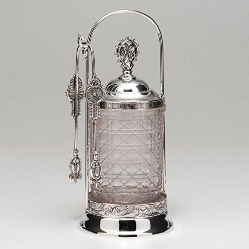 Meriden Silver Plated Pickle Jar
