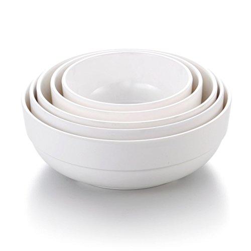 2 Pcs Kinglang Melamine Rice Soup Bowl for Restaurant