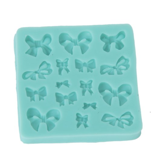 Bowknots Shaped Silicone Clay Mold Mould For Fondant Cake Decorating