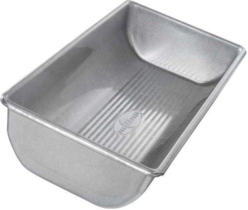 Usa Pan Bakeware Aluminized Steel 12 X 5.5 X 2.25 Inch Hearth Bread Pan